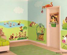 Decorazioni pareti camerette bambini: dalla Pittura agli Adesivi
