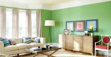 come dipingere le pareti del soggiorno